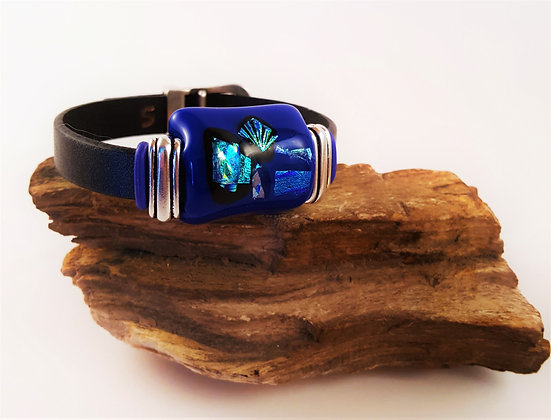 Abstract Gem Buckle Bracelet