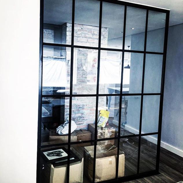 Steel Glass Screen