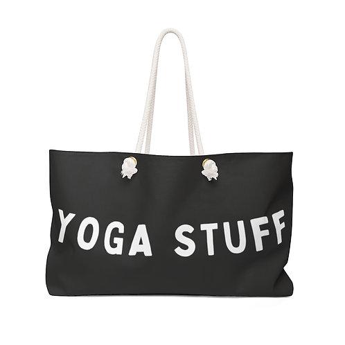 Extra Large Yoga Bag | Funny XL Black and White Yoga Bag | Oversized Tote
