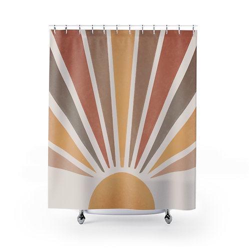 Copy of Shower Curtain Hot Pink Frame F81894 FTN