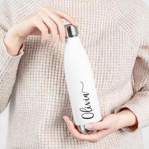 Personalized Bottle | Custom Name Bottle | Eco- Friendly 20oz Insulated Bottle