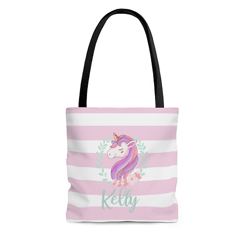 Personalized Unicorn Tote