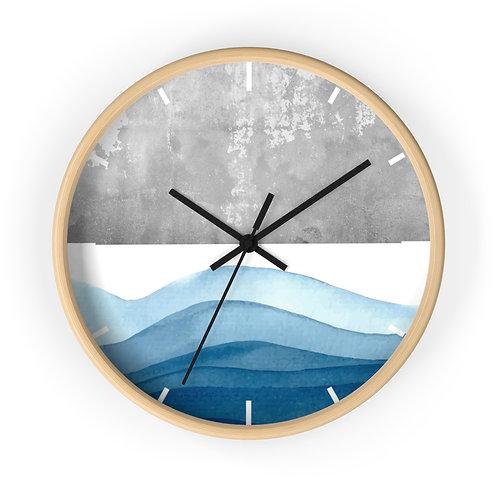 Copy of wall clock, waves