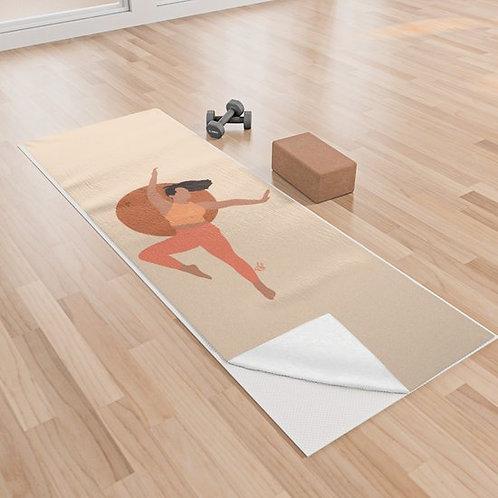 Sunrise Yoga Towel By Briana Ariel