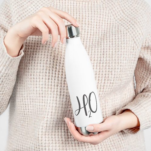 H2O Water Bottle | Eco- Friendly 20oz Insulated Bottle