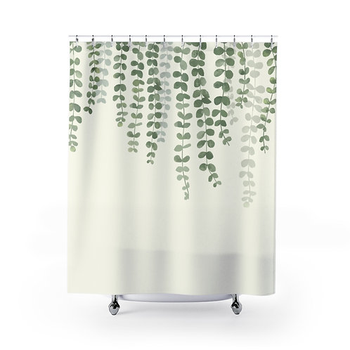 Shower Curtain VINES 111 ivory