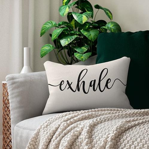 Exhale lumbar pillow
