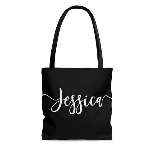 Personalized tote bag with name | Custom name tote bag