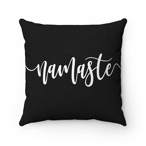 Namaste Square Pillow