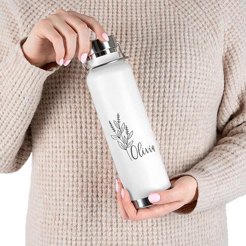 Personalized 22oz Vacuum Insulated Bottle
