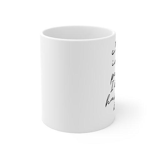 C'mon inner peace I don't have all day mug | Funny meditation gift