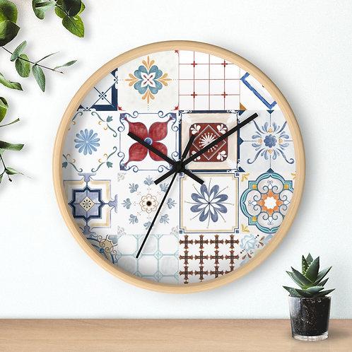 Wall clock, Tiles