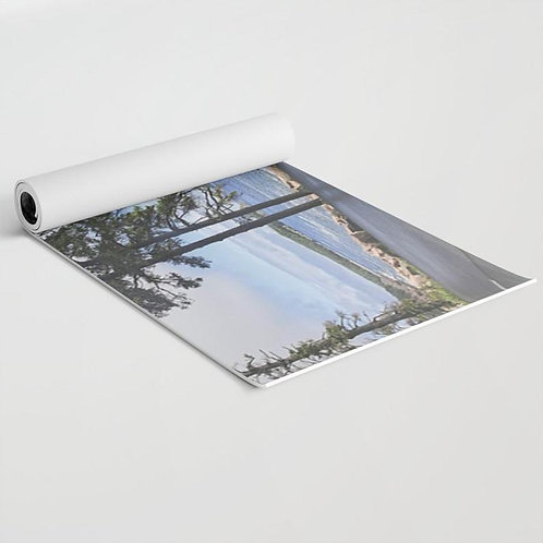 Personalized yoga mat with your picture
