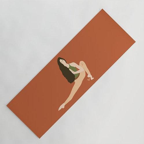 She is steady  - Yoga Mat Design By Briana Ariel