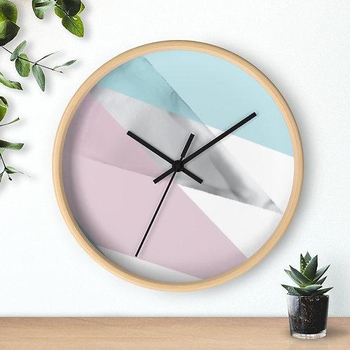 Wall clock, Minimalist Design, Geometric Design