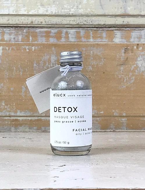 DETOX Masque Visage™ (Peau Grasse + Acnée)