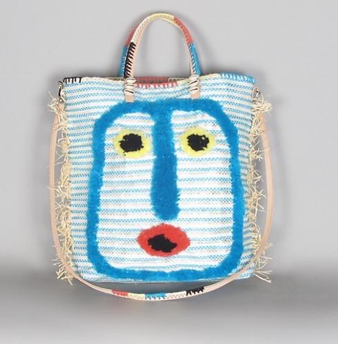 Cabas visage Blue En Shalla Food Bag Foundation