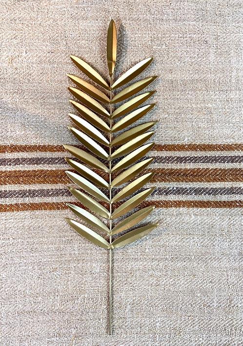La feuille de palme dorée