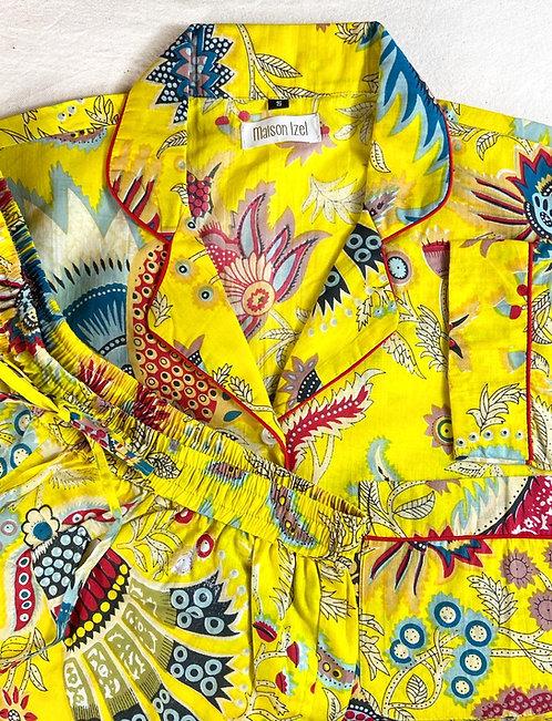 Pyjama imprimé soleil