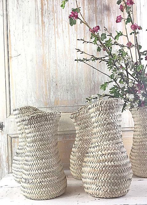 Vases en feuilles de palme