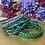 Thumbnail: Bracelet bouddhiste tressé version Vert Emeraude (Exclusivité Maison Izel)