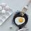 Thumbnail: Dessous de plat en lin tricoté