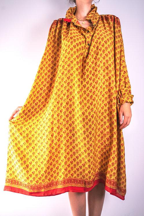 Robe en soie recyclée (modèle 1)