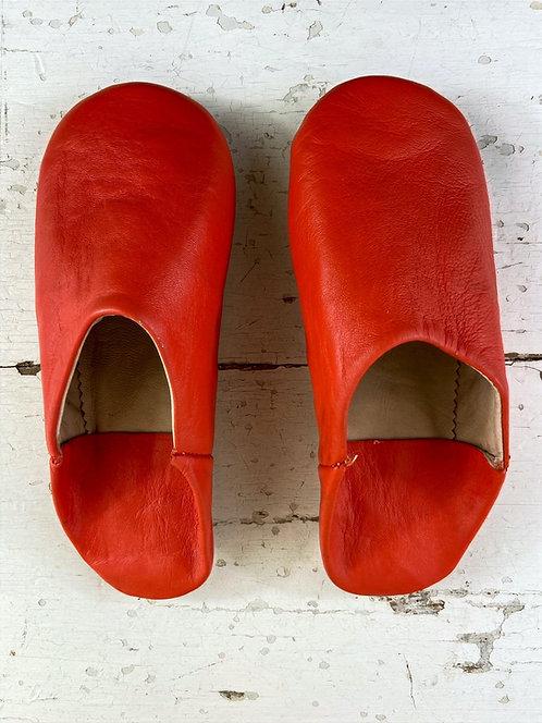 Babouches beldi (orange)