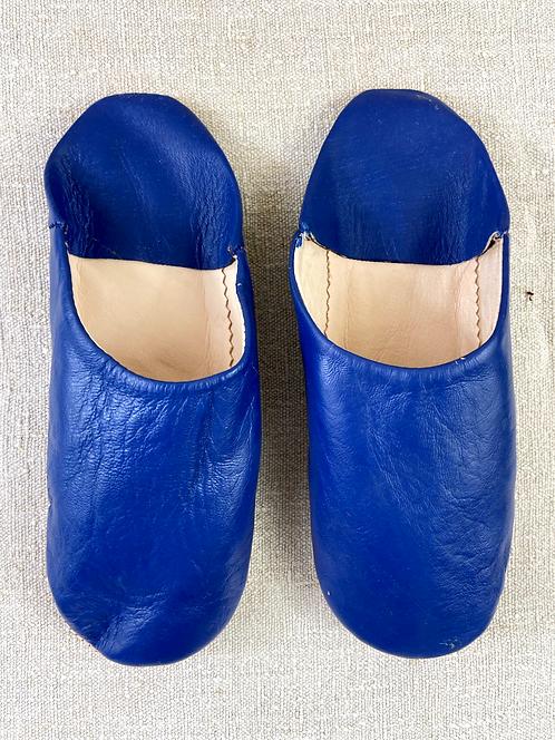 Babouches beldi (bleu majorelle)