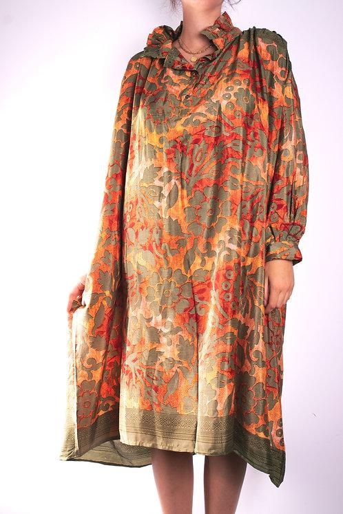 Robe en soie recyclée (modèle 3)