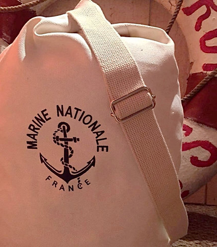 Mini sac à paquetage Marine Nationale