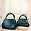 Thumbnail: Le petit sac panier cuir Nouss Nouss kaki