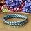 Thumbnail: Bracelet bouddhiste tressé version Bleu Glacier  (Exclusivité Maison Izel)
