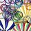 """Thumbnail: Bracelet Bouddhiste mantra épais """"violet"""""""