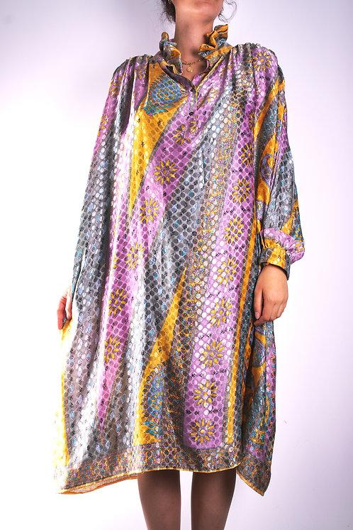 Robe en soie recyclée (modèle 2)