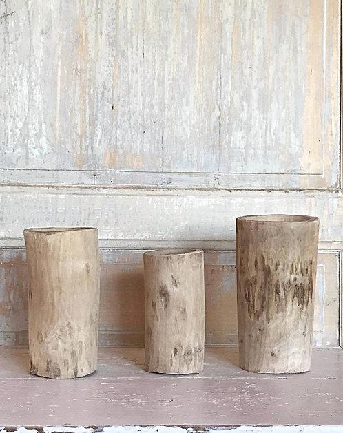Mortier en bois de noyer