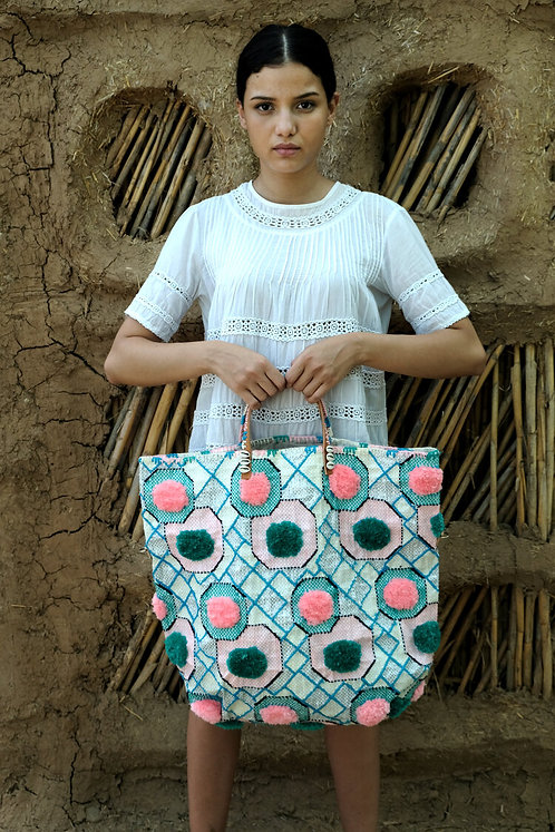Cabas  Aqua  En Shalla Food bag Foundation