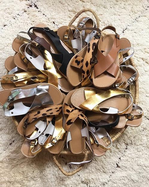 sandales  Maison Izel