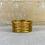 Thumbnail: Bracelet Bouddhiste Mantra Gold épais (qualité supérieure)
