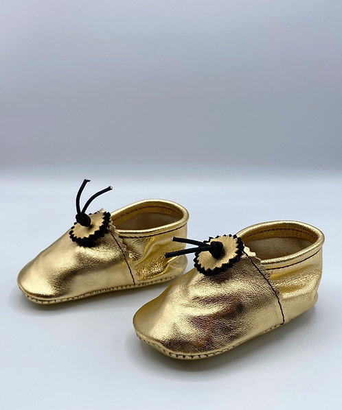 Les chaussons Bébé Gold