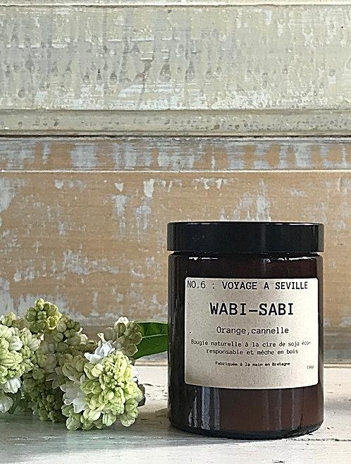 Bougie Wabi-Sabi N°6 : VOYAGE A SEVILLE