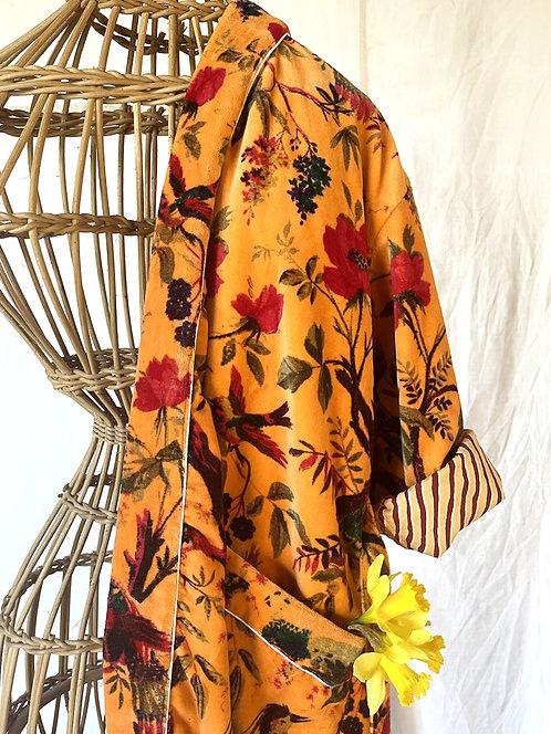 Kimono Velvet orange