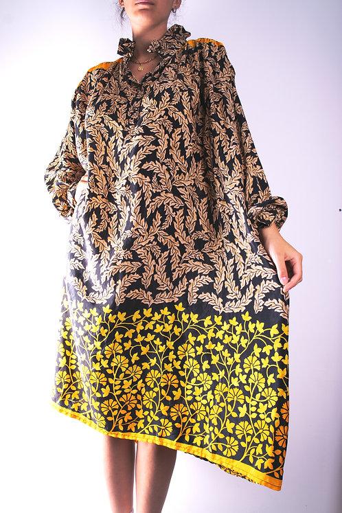Robe en soie recyclée (modèle 4)