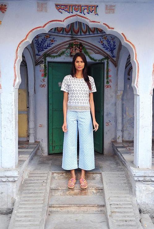 Pantalon SZ Pastel Bleu