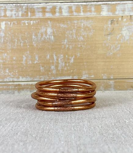 Bracelet Bouddhiste Mantra  Copper épais (qualité supérieure)