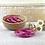 Thumbnail: Bracelet bouddhiste fin Fuchsia (qualité supérieure)