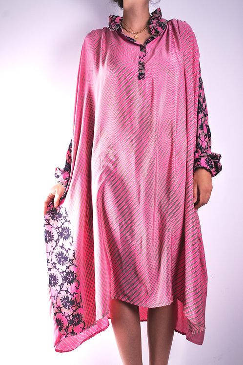 Robe en soie recyclée (modèle 7)
