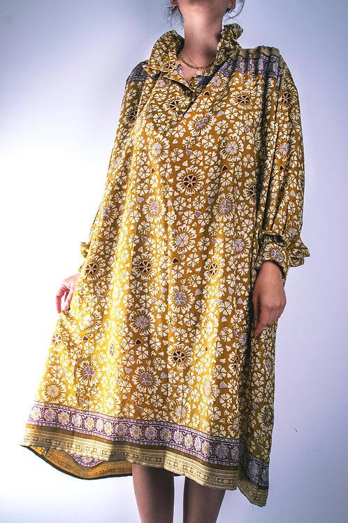 Robe en soie recyclée (modèle 6)