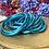 Thumbnail: Bracelet bouddhiste Mantra épais Bleu Azur (qualité supérieure)
