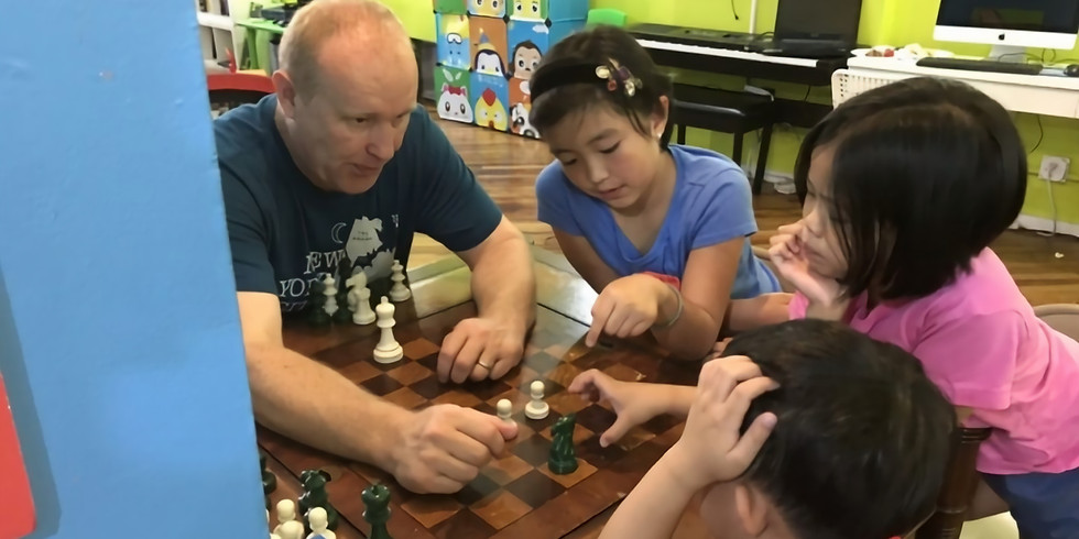 Learning Center: Mini Chess Camp (March 18-29, 2019)